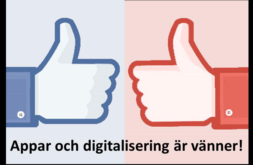 Appar och digitalisering är vänner